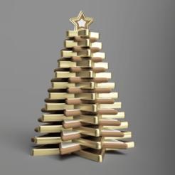 frontSmall.png Télécharger fichier STL gratuit Arbre de Noël 01 • Objet pour imprimante 3D, Wilko