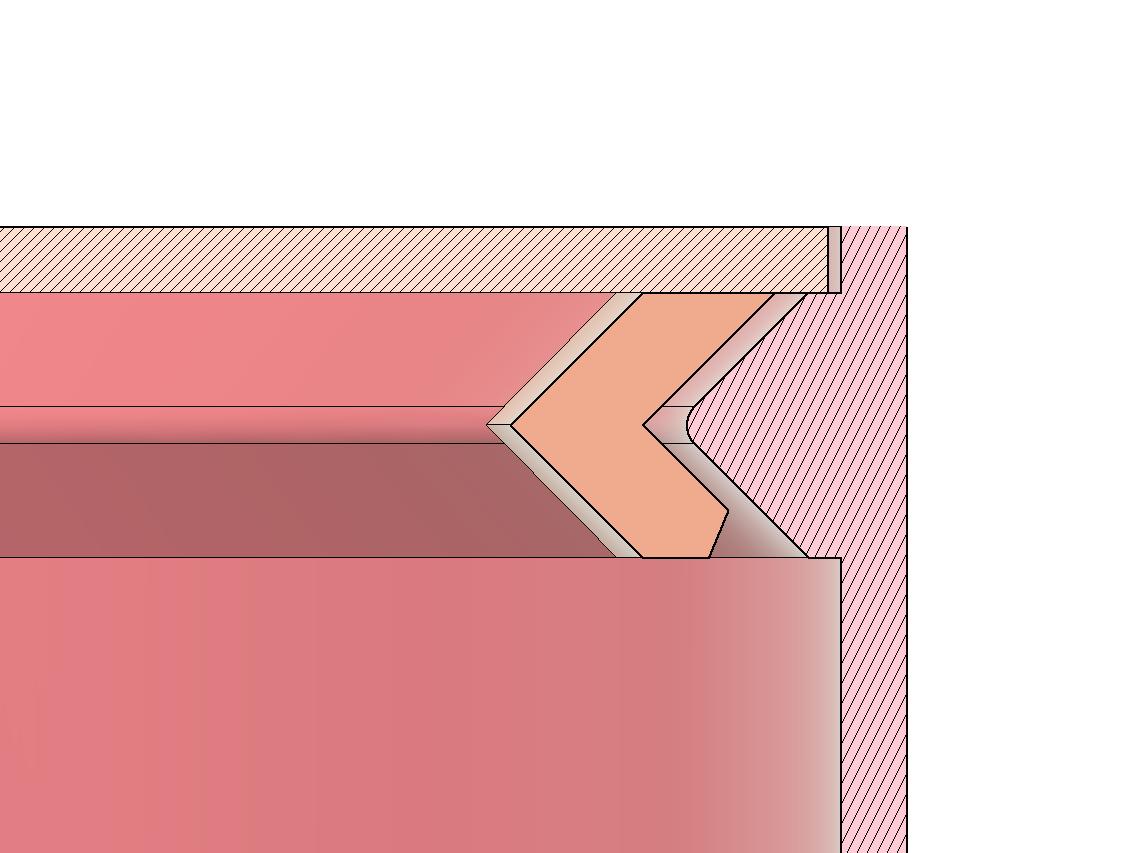 Section.png Télécharger fichier STL gratuit Montage par encliquetage pour les objets ronds (Comment faire) • Design à imprimer en 3D, Wilko