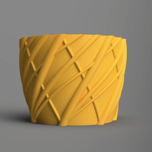 Download free STL file Planter 01 • 3D print object, Wilko