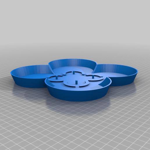 StackablePlanterWithSaucer110mm.Saucer.Body1.low.png Télécharger fichier STL gratuit Jardinière empilable (110mm) • Plan à imprimer en 3D, Wilko