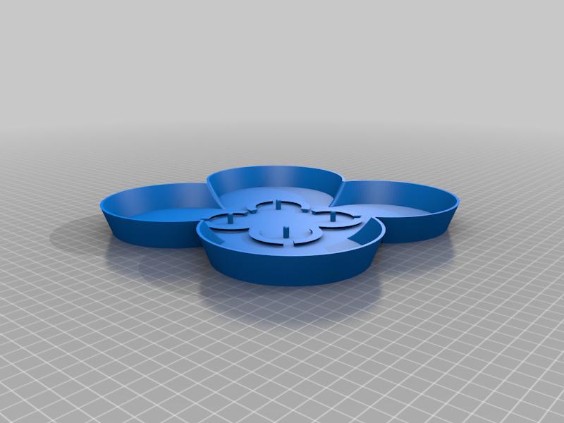 StackablePlanterWithSaucer110mm.Saucer.Body1.high.png Télécharger fichier STL gratuit Jardinière empilable (110mm) • Plan à imprimer en 3D, Wilko