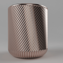 sideLow.png Download free STL file Vase 08 • 3D print object, Wilko
