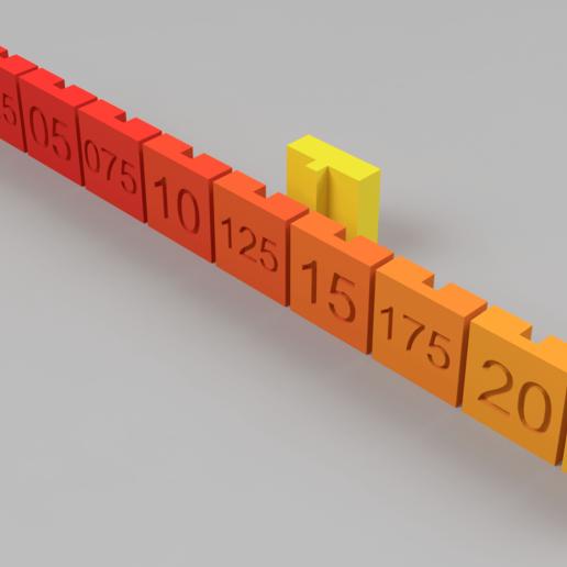 Télécharger fichier 3D gratuit Test d'ajustement rapide / Test d'ajustement serré, Wilko