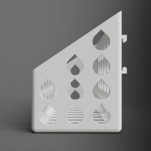 side.png Download free STL file Mineral Stone Holder For Birds • 3D printing model, Wilko