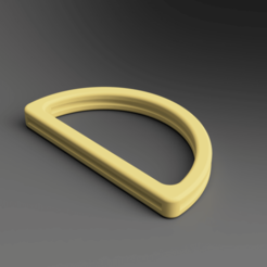 Download free STL file D-Ring for bags • 3D printing object, Wilko