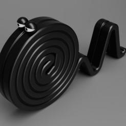 """topRight.png Télécharger fichier STL gratuit Mignonne """"Lakritzschnecke • Modèle imprimable en 3D, Wilko"""