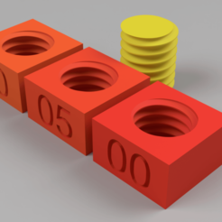 Download free STL file Thread test • 3D print model, Wilko