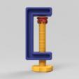 C-Clamp_03_2017-Aug-02_09-17-35PM-000_CustomizedView3159666931.png Download free STL file C-Clamp / G-Clamp 01 - 03 • 3D printing model, Wilko
