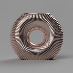 frontLow.png Download free STL file Vase 14 • 3D printing template, Wilko