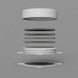 frontExplode_low.png Télécharger fichier STL gratuit Filtre de cabine de pulvérisation Wiltec • Objet imprimable en 3D, Wilko