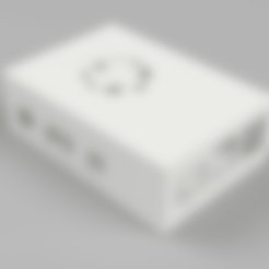 Télécharger fichier imprimante 3D gratuit Etui Framboise Pi3 Modèle B, Wilko