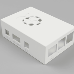 Download free 3D printer templates Raspberry Pi3  Model B Case, Wilko