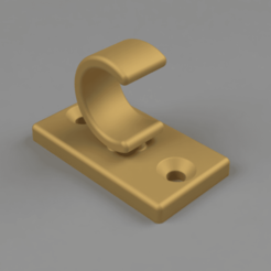 Image.png Download free STL file Bathroom Curtain Holder • Model to 3D print, Wilko