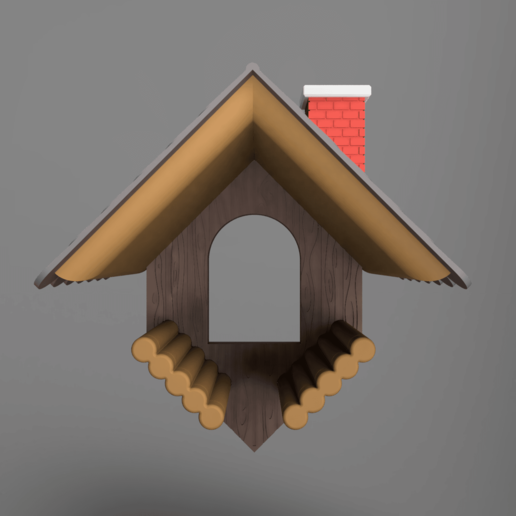 Front.png Download free 3MF file Bird Feeder 01 • 3D printable template, Wilko