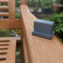 Download free 3D print files Garden chair foot, Wilko