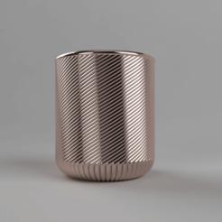 sideLow.png Télécharger fichier STL gratuit Vase 09 • Plan pour impression 3D, Wilko