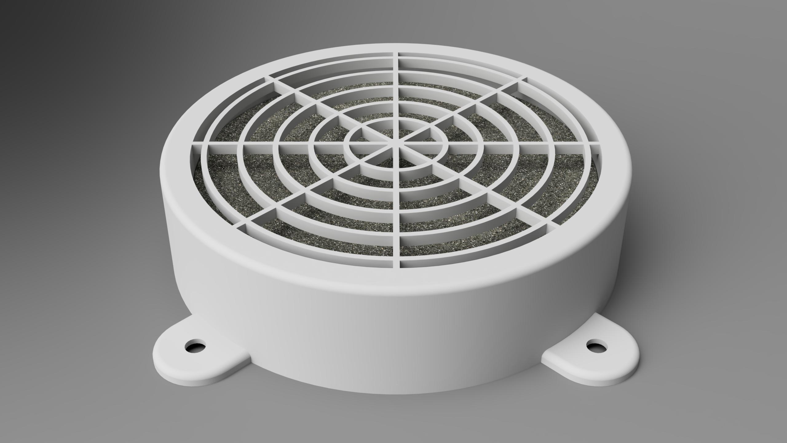 topRight_low.png Télécharger fichier STL gratuit Filtre de cabine de pulvérisation Wiltec • Objet imprimable en 3D, Wilko