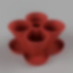 StackablePlanterWithSaucer110mm.Saucer.Body1.low.stl Télécharger fichier STL gratuit Jardinière empilable (110mm) • Plan à imprimer en 3D, Wilko