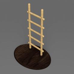 Descargar Modelos 3D para imprimir gratis Escalera y Plataforma, Wilko