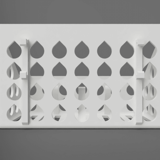 back.png Download free STL file Mineral Stone Holder For Birds • 3D printing model, Wilko