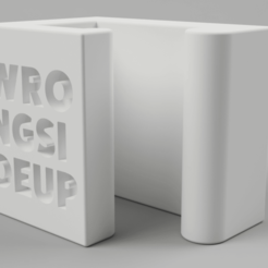 Download free 3D printing templates IKEA container SAMLA cover clamps, Wilko