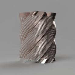 frontLow.png Télécharger fichier STL gratuit Vase 20 • Modèle pour imprimante 3D, Wilko