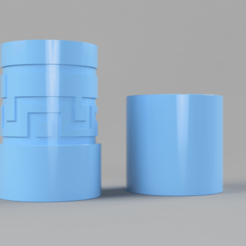 Download free 3D printing files Simple Labyrinth Canister, Wilko