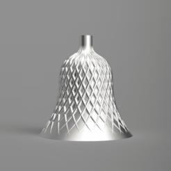 front.png Télécharger fichier STL gratuit Cloche de Noël 01 (mode vase) • Design pour impression 3D, Wilko