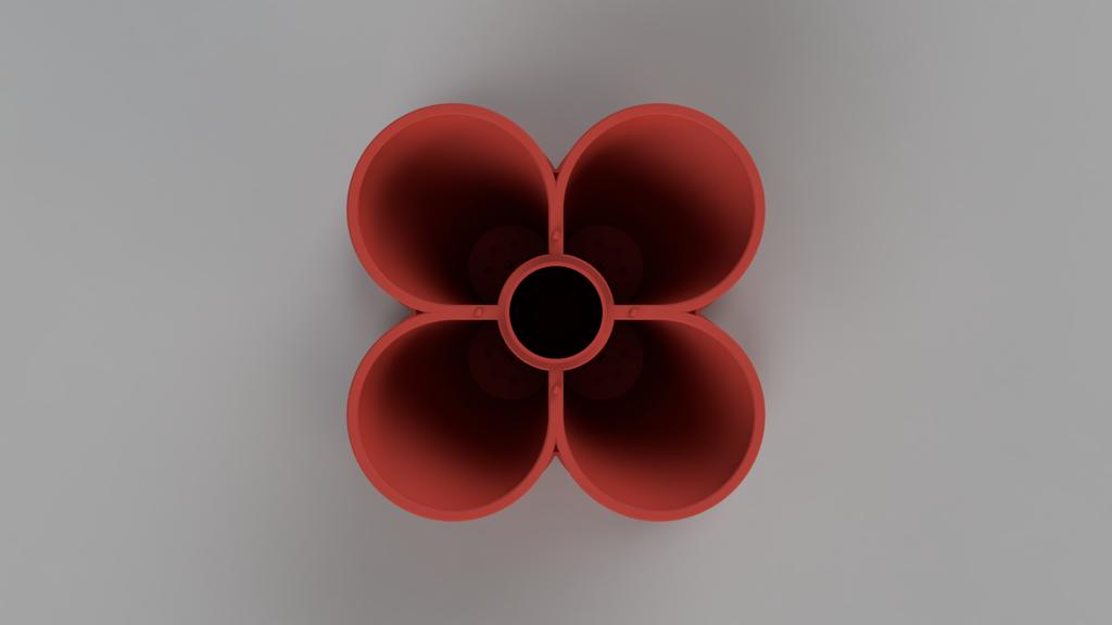 top_Medium.png Télécharger fichier STL gratuit Jardinière empilable (110mm) • Plan à imprimer en 3D, Wilko