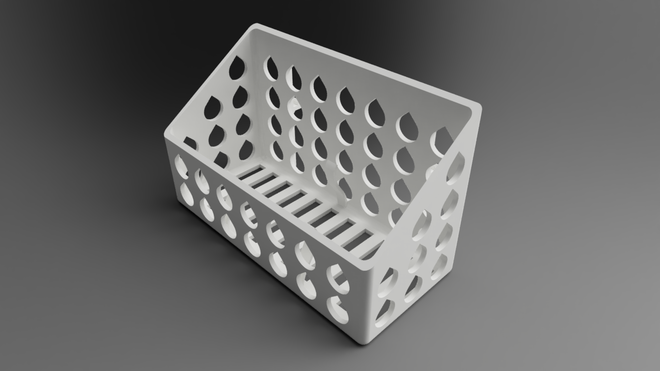 topRight.png Download free STL file Mineral Stone Holder For Birds • 3D printing model, Wilko
