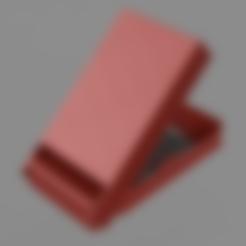GbaCartridgeHolder_4_slots_2-Top-Body.stl Télécharger fichier STL gratuit Mallette Gameboy Advance (GBA) pour 4 jeux • Objet à imprimer en 3D, Wilko