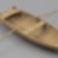 Dinghy_01-Oar-Body2.stl Télécharger fichier STL gratuit Dinghy 01 • Design pour impression 3D, Wilko