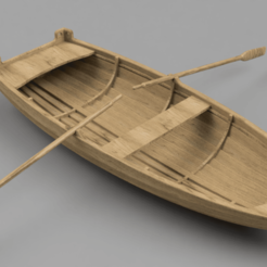 Download free STL file Dinghy 01 • 3D print model, Wilko