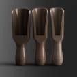 TotalFront.png Télécharger fichier STL gratuit Sucre en cuillère • Modèle pour impression 3D, Wilko
