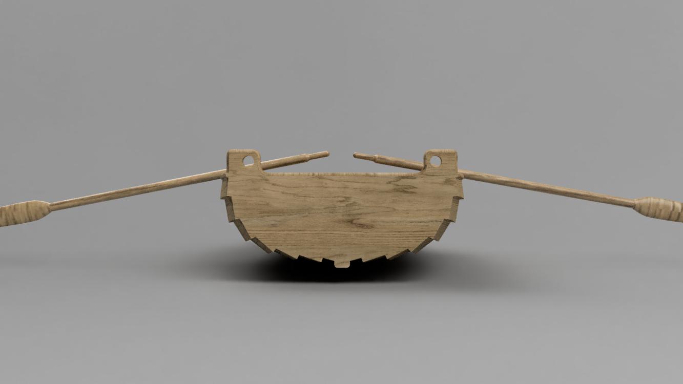 Back.png Télécharger fichier STL gratuit Dinghy 01 • Design pour impression 3D, Wilko