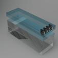 Download free STL file Stackable Aquarium Cooling - Noctua NF-A8 • 3D print object, Wilko