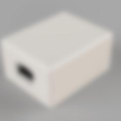 WemosD1Mini-Temp-Bottom-Body1.stl Télécharger fichier STL gratuit Wemos D1 Mini Temp-01 • Modèle pour imprimante 3D, Wilko