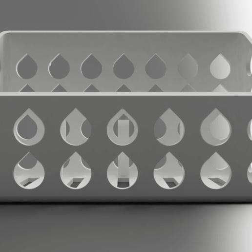 front.png Download free STL file Mineral Stone Holder For Birds • 3D printing model, Wilko