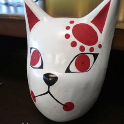 Télécharger fichier 3D Masque Tanjiro de la Tueuse de Démons, JamesWaffles