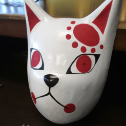 Download 3D printer files Demon Slayer's Tanjiro Mask, JamesWaffles