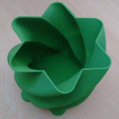 Download free 3D printer designs Vase, flowerpot, bowl, danielfdz0192