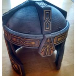 CascoGimli.PNG Download STL file Gimli Helmet • 3D printing object, danielfdz0192