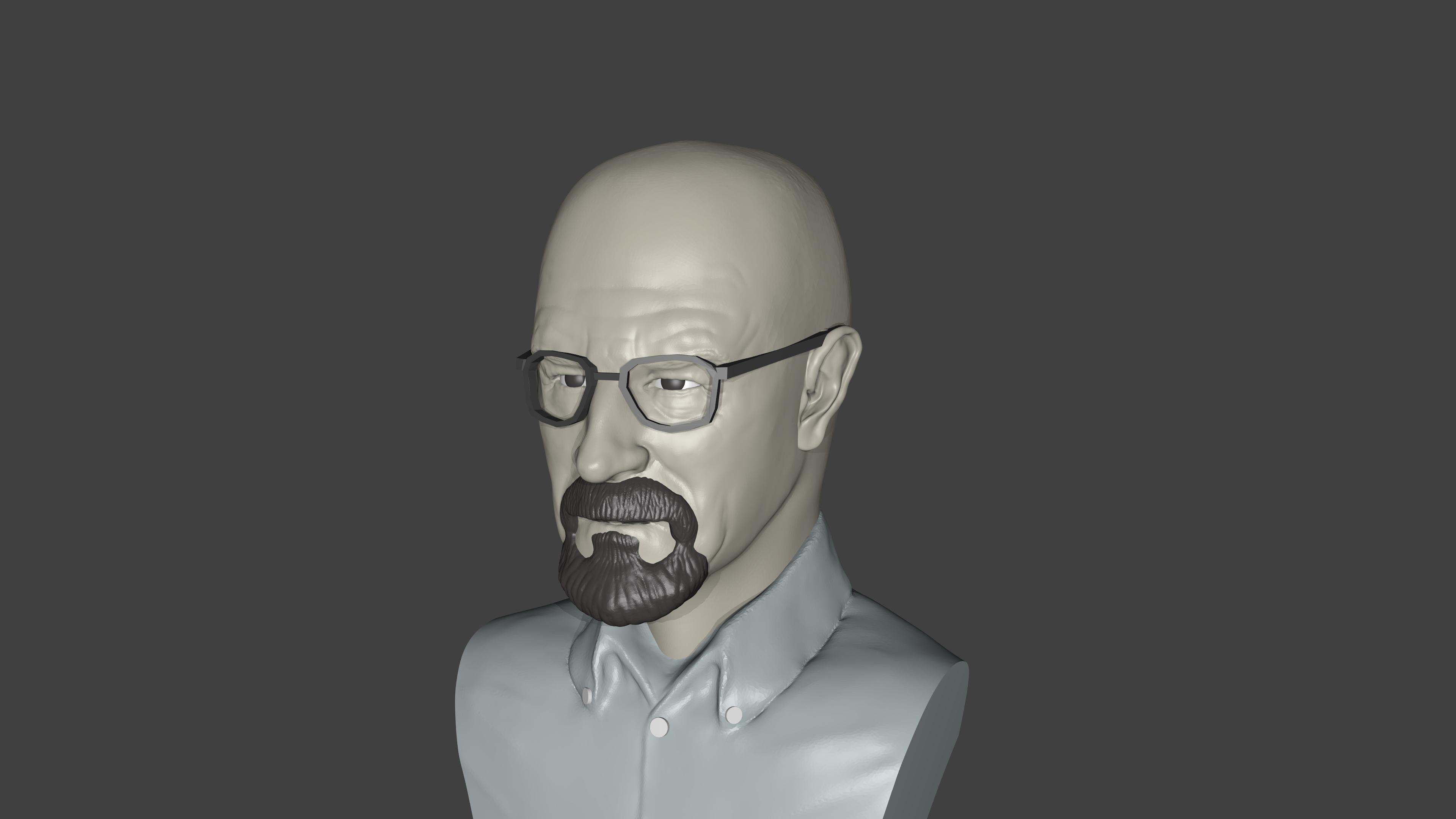 Render5.png Télécharger fichier STL gratuit Breaking Bad • Plan imprimable en 3D, Aslan3d