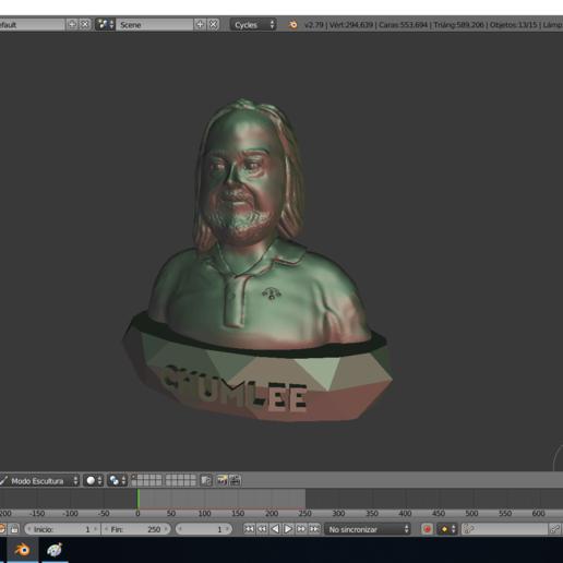 chumlee2.png Télécharger fichier STL gratuit Chumlee • Modèle à imprimer en 3D, Aslan3d