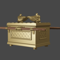 2arca.png Download STL file Ark of the Covenant • 3D printer design, Aslan3d