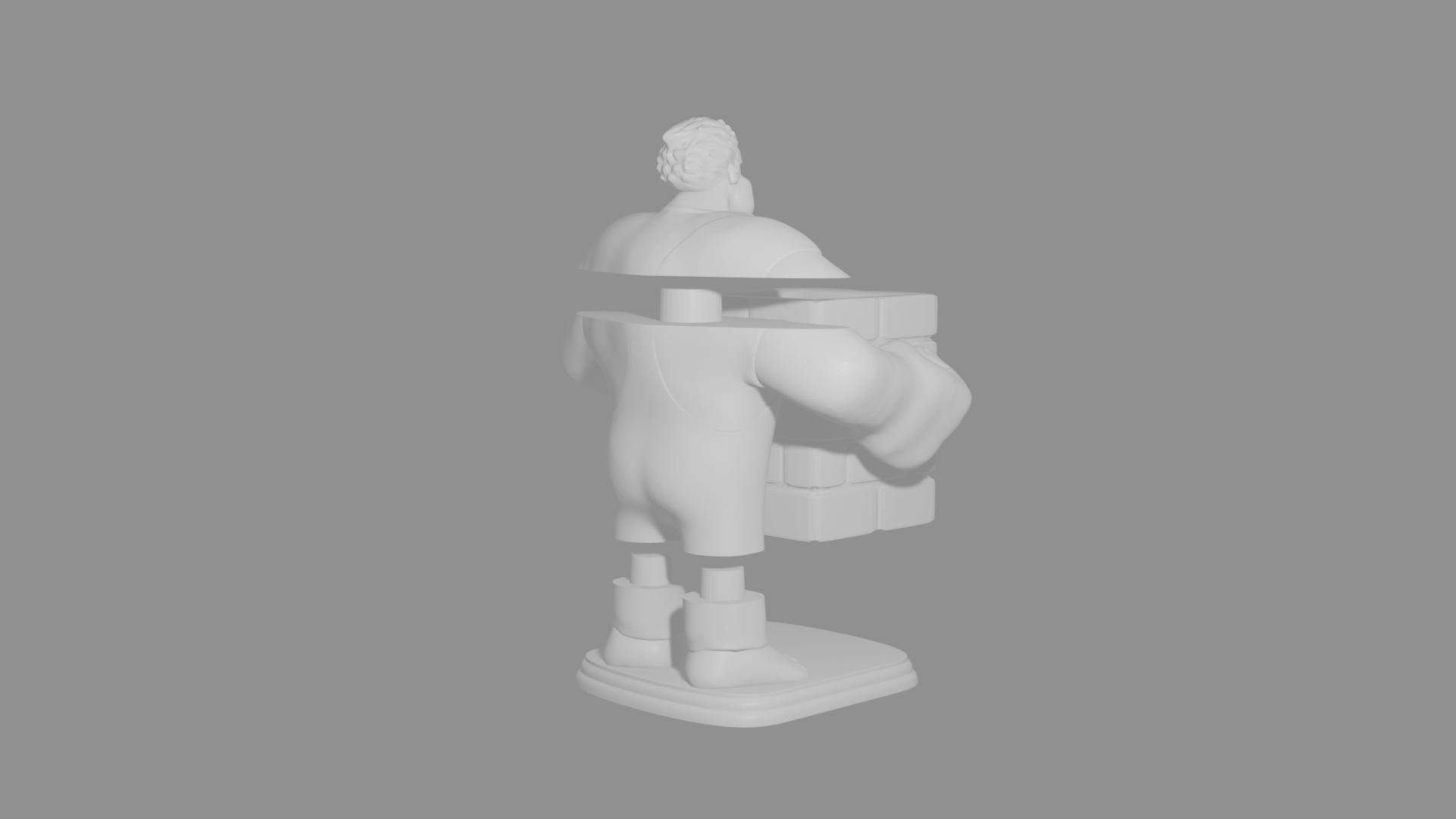 5 ralph.png Download free STL file Ralph the Feather Wrecker • 3D printer design, Aslan3d