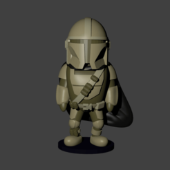 Download 3D printing designs THE MANDALORIAN, Aslan3d