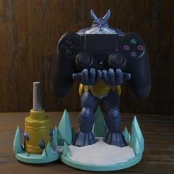 hielo 1.jpg Download STL file Ymir - smite • 3D printing template, Aslan3d