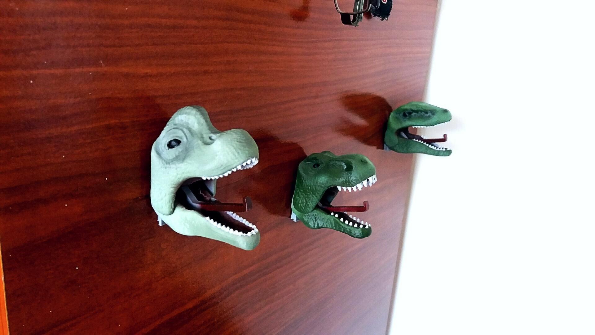 5 foto dinos.jpg Download STL file Hanging Dinosaurs • Model to 3D print, Aslan3d