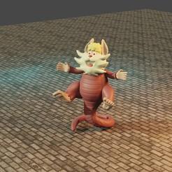 4cats.jpg Télécharger fichier STL snarf Thundercats • Objet à imprimer en 3D, Aslan3d